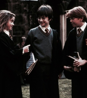 book, daniel radcliffe and emma watson