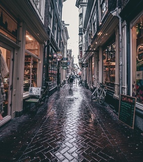 amsterdam, architecture and bicycle