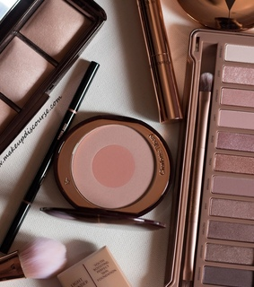 rose gold, cosmetics and pink aesthetic