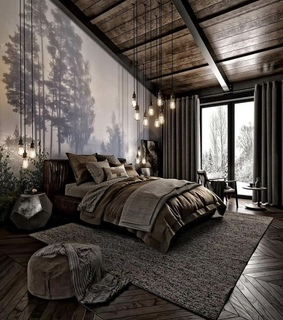 bedroom, decoration and house