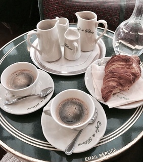 cafe, parisian and coffee