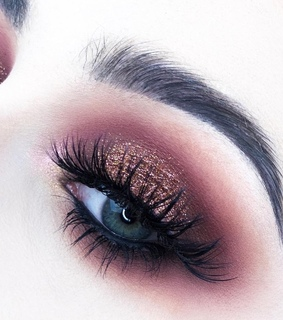 eye, makeup look and gold