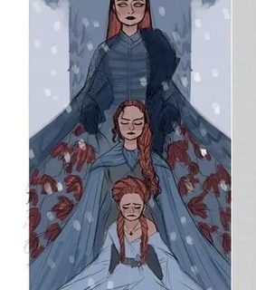 game of thrones, sansa and sophie turner