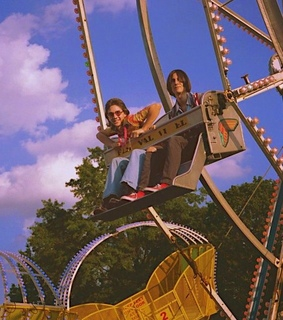 amusement, carnival and hippies