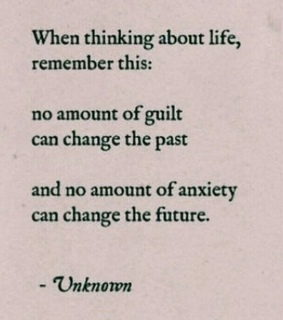 quote, anxiety and guilt
