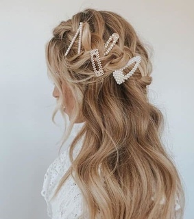 hair clip, jewelry and dainty