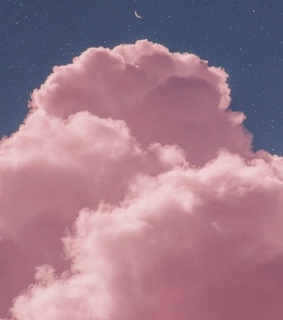 clouds, starts and sky