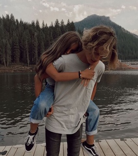 couplegoals, hair and live