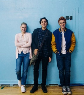 Archie, Betty and actors