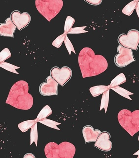 hearts, love and pink