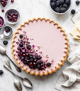 light purple, aesthetic and postre