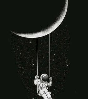 outer space, wallpaper and astronaut