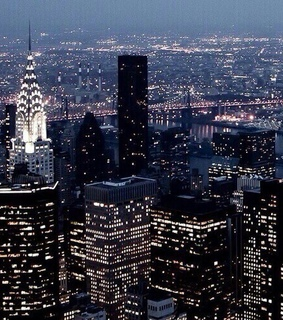 nyc, night lights and city lights