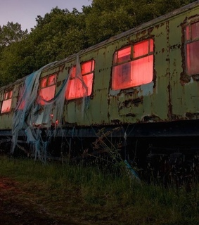 abandoned, creepy and transport