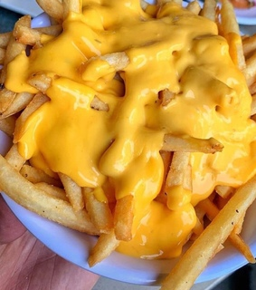 fries, chips and cheese