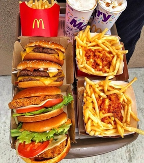 McDonald's, burgers and cravings