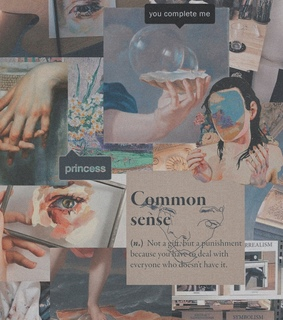 Collage, aesthetic and art