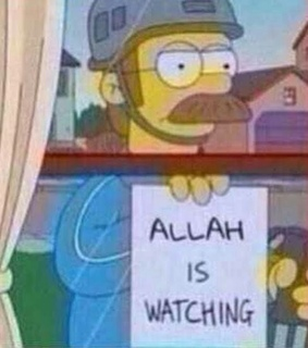 allah is watching, cartoon and memes