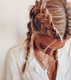 braid, braided and hairstyle