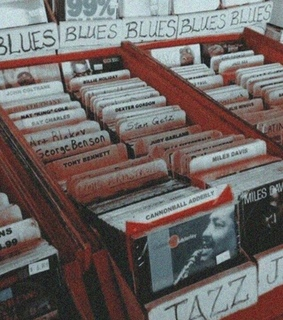 blues and vintage