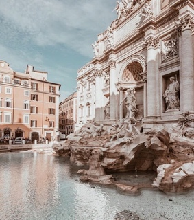 fountain, rome and photography