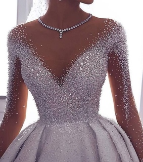 Prom, bling and dress