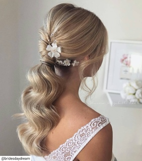 bride, girly and hair