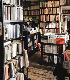 antique, art and book store