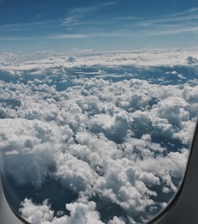 aesthetic, airplane and beautiful