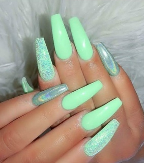 inspiration, art and gel nails