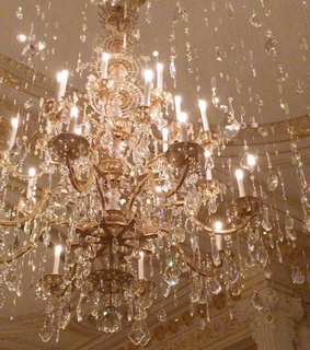 bling, chandelier and classy