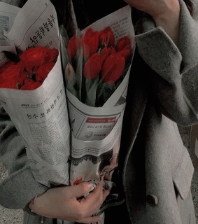 bouquet, flowers and aesthetic
