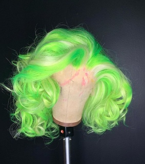 @lulshawtie, lime green and green