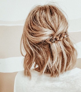 accessory, back and blond