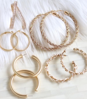 jewelry, collection and gold