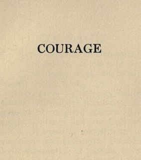 quote, courage and text
