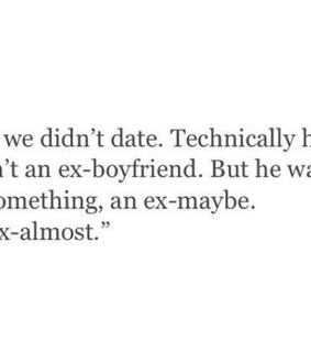 boy, dating and ex