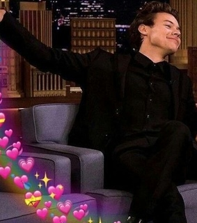 Harry Styles, harry styles meme and hearts