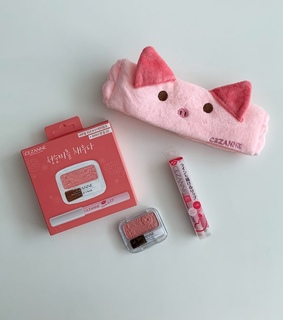 pink, cosmetic and korean