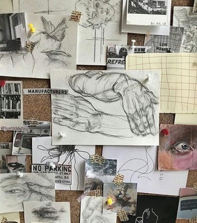 drawings, paintings and tumblr