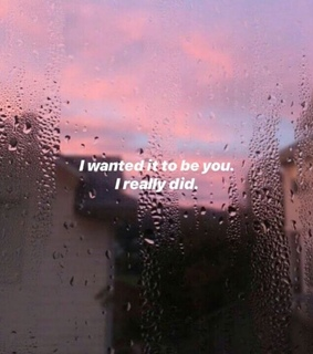 rain, want you and cry