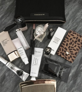 cosmetic, essentials and makeup