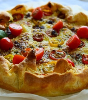 vegetarian quiche, food and weheartit