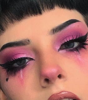 brows, eye and hearts