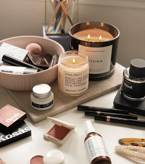 beauty, candles and goals