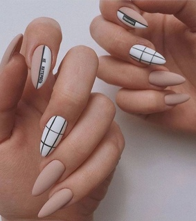 nails, pinterest and Nude
