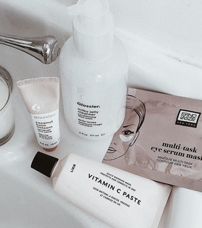 beauty, cleanser and cosmetics