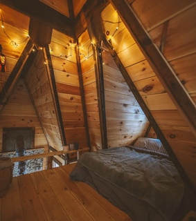 attic, brown aesthetics and trip