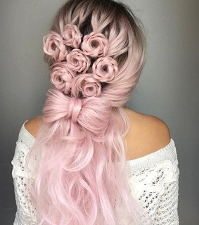 girl, cute and hairstyle