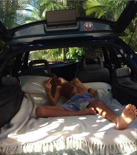 Road Trip, beach and bed